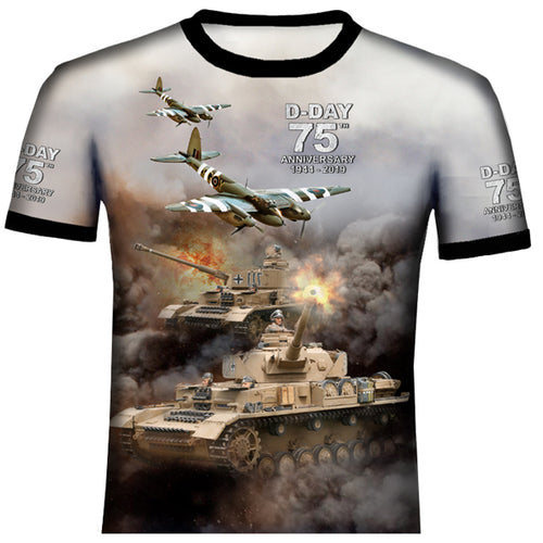 D-DAY 75th ANNIVERSARY MOSQUITO SPITFIRE T .Shirt