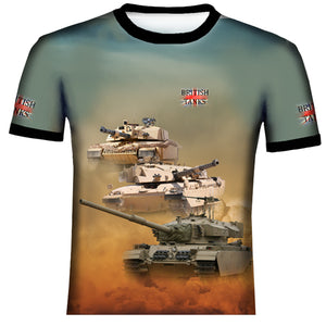 Battle Tank   T Shirt