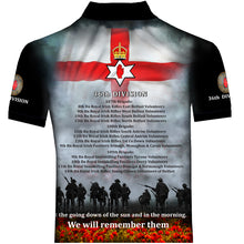 Copy of 100 YEARS 36th DIVISION POLO SHIRT 0U9