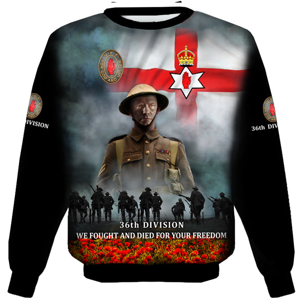 100 YEARS 36th DIVISION  SWEAT SHIRT 0U9