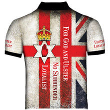 Ulster Loyalist No Surrender Polo Shirt