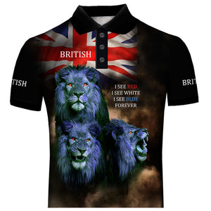 British Lions Patriot Polo Shirt