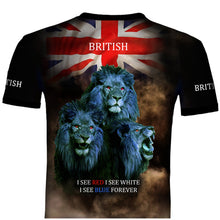 British Lions  Patriot  T .Shirt