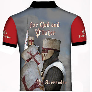 ULSTER KNIGHT TEMPLER POLO SHIRT NEW