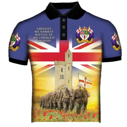 Ulster Mamorial Tower Polo Shirt