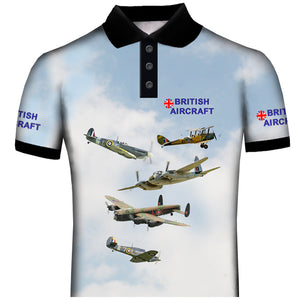 British Aircraft Polo Shirt