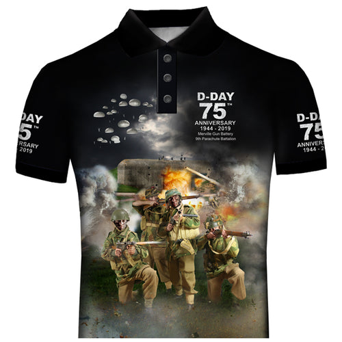 Merville Battery  9th Parachute Battalion POLO SHIRT