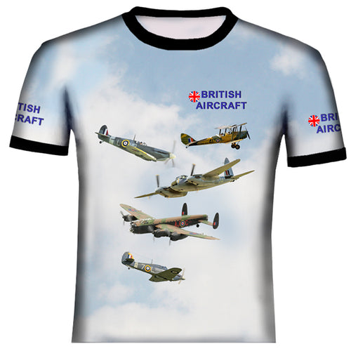 British Aircraft   T Shirt
