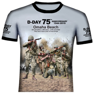 Omaha World War Two T Shirt