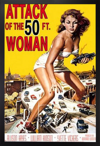 MOVIE POSTER: ATTACK OF THE 50 FOOT WOMAN
