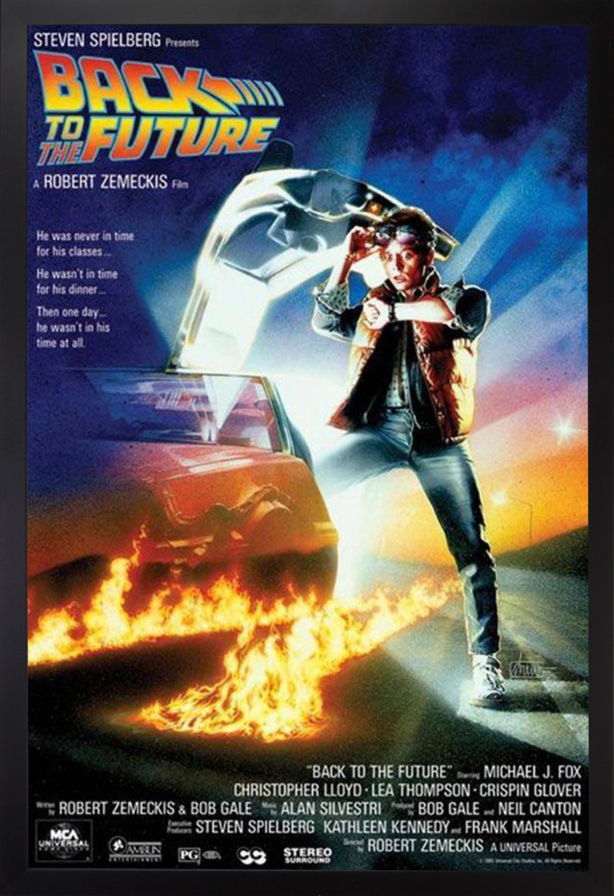 MOVIE POSTER: BACK TO THE FUTURE