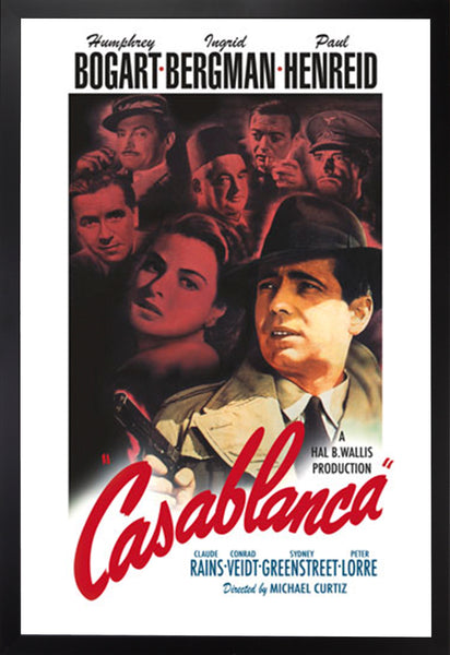 MOVIE POSTER: CASABLANCA
