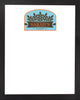 DRY ERASE BOARD 18 X 22: KITCHEN BAKERY LOGO (ADD YOUR NAME!)