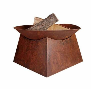FIRE PIT: RUST FIRE BOWL