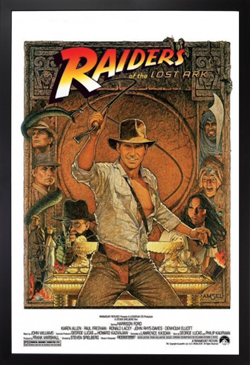 MOVIE POSTER: RAIDERS OF THE LOST ARK