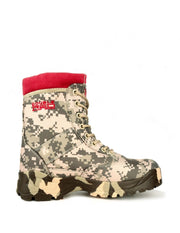 Boots Red Jungle Digi Grey