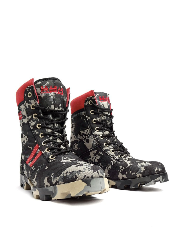 Boots Red Jungle