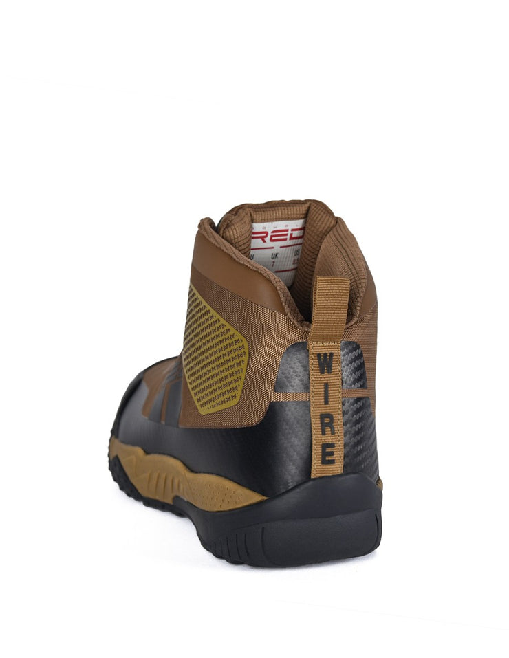 Boots WIRE Carbon Edition Brown   ( NEW )