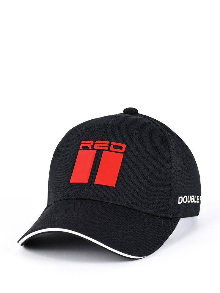 DOUBLE RED Cool Comfort Technology Golf 3D Cap Black