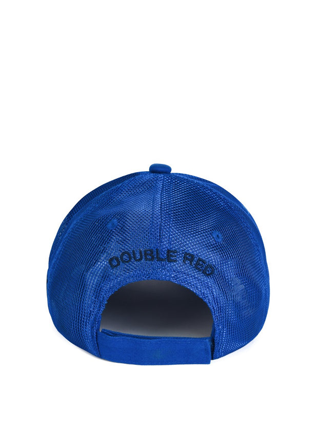 DOUBLE RED Trademark Trucker Cap ALL BLUE
