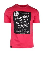 DR M T-Shirt Army Club Red
