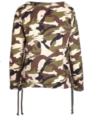 DR W Knit Jumper Green CAMO