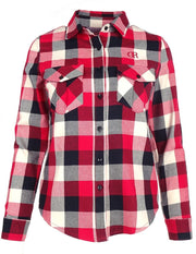 DR W Limited Check Shirt Red