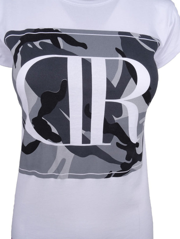 DR W T-Shirt Camodresscode White