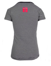 Nautical Striped T-Shirt B&W