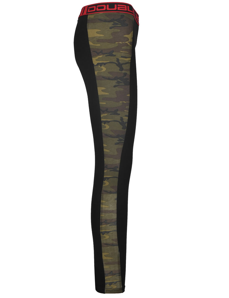 RED LEGGINS Black/Green Camo