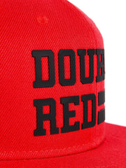Snapback Cap UNIVERSITY OF RED Red/Black