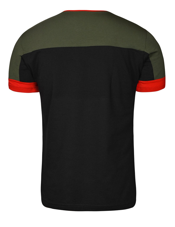 T-Shirt GLORIOUS Olive/Black