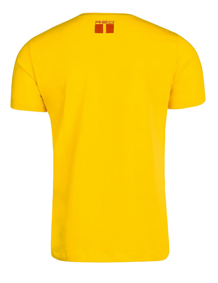 T-Shirt MMA RULES Yellow