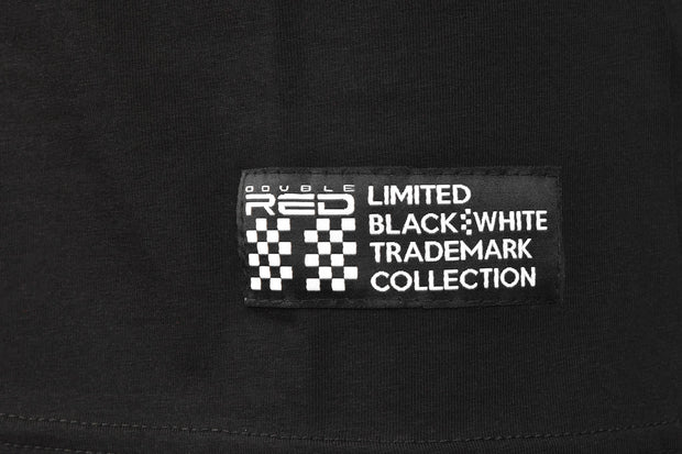 T-Shirt TRADEMARK B&W Edition Black Embroidery Logo
