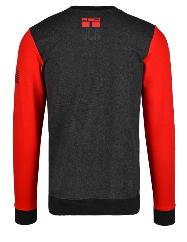 United Cartels Of Red UCR Grey/Red Sweatshirt