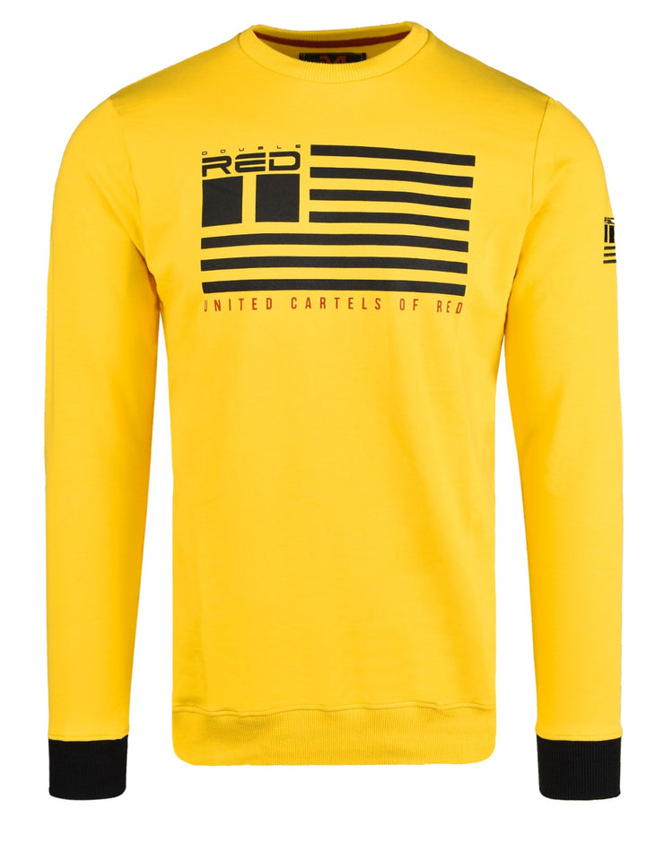 United Cartels Of Red UCR Yellow Sweatshirt
