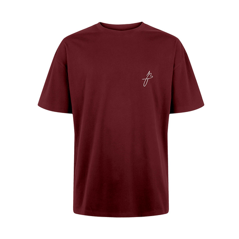 HERZLOGO SHIRT (bordeaux)