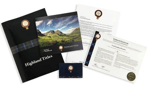 Highland Title Gift Pack