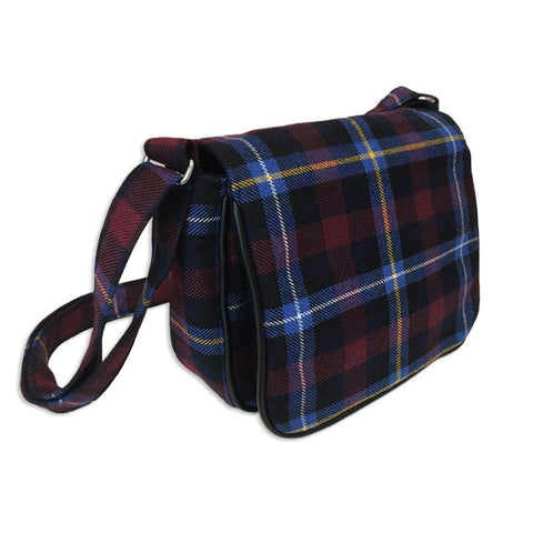 Highland Tartan Shoulder Cartridge Bag