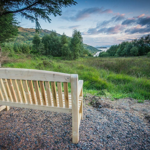 Glencoe Reserve Bench View