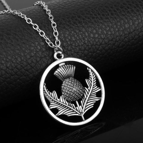 Image of Scottish Thistle Pendant
