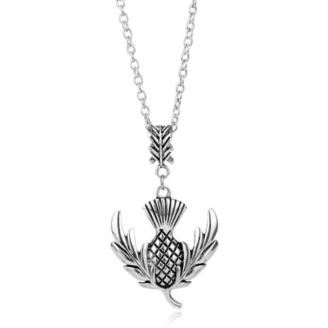 Scottish Thistle Necklace