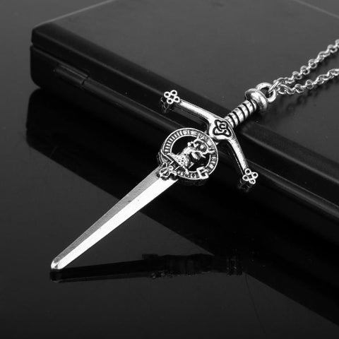 Image of Clan Fraser Sword Pendant