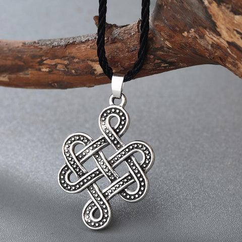 Image of Celtic Eternity Knot Necklace