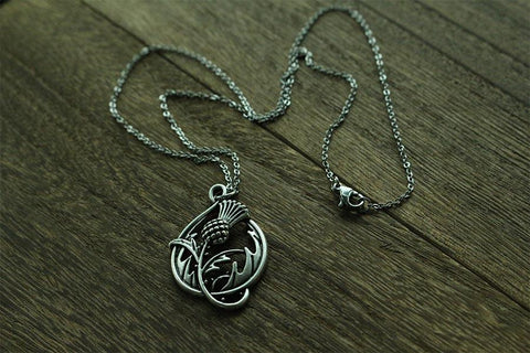 Image of Celtic Thistly Necklace