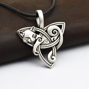 Viking Fox Necklace