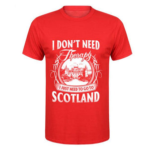 Scotland Therapy T-Shirt