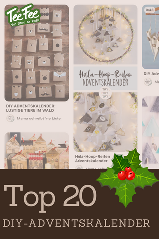 Adventskalender DIY Top 20