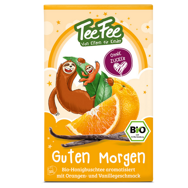 Bio-Kräutertee Guten Morgen Honeybuschtee Orange - Tee Fee