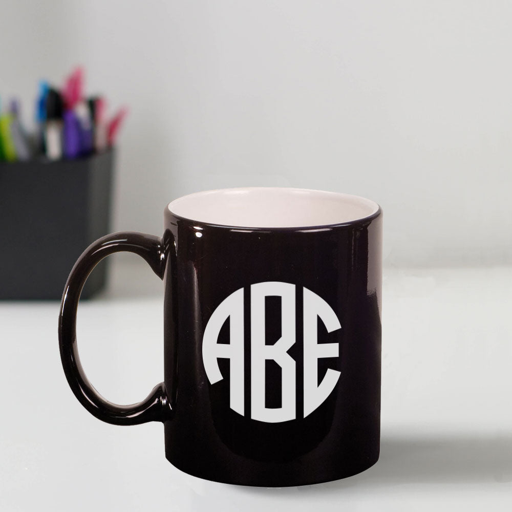 Custom Engraved 11 oz Coffee Mug